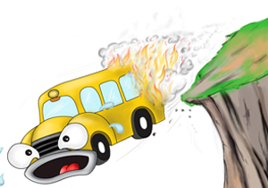 The Financial Burning Bus