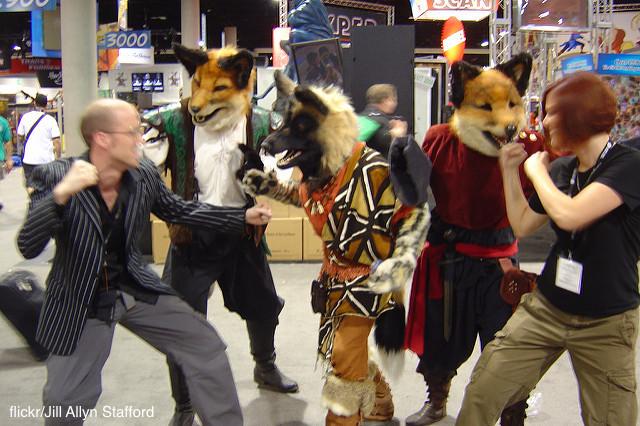 fist_fight_foxes_JillAllynStafford